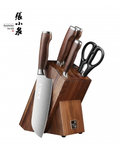 张小泉淳木系列刀具 刀刃锋利 耐磨硬朗 六件套