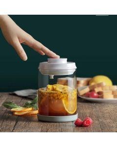 【包邮】Joydeem 按压式密封罐储物罐 食品级玻璃 保鲜防潮 多种规格可选
