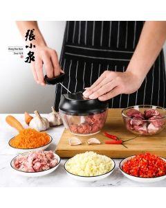 张小泉 家用手拉式料理机绞肉机 方便快捷 多功能
