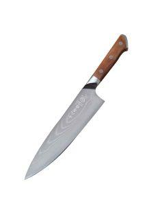 十八子作 雷厉风行87层复合不锈钢厨师刀 锋利轻便 弹性耐磨