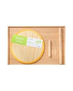 【包邮】Suncha 双枪多功能竹木擀面砧板 结实耐用 健康竹木 66*43*1.5cm