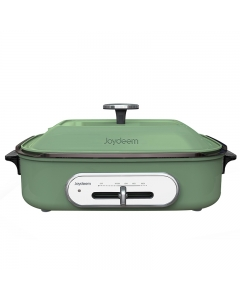 Joydeem 多功能料理锅烹饪锅 IT-6099B 煎烤焖煮蒸 易清洗 薄荷绿