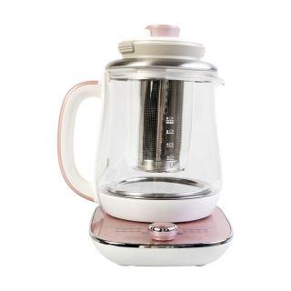 Aroma 多功能玻璃养生壶AWK-701 带炖盅茶篮 温度时间可调节 1.5L