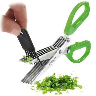 【德国原装进口】 Westmark多功能切菜器不锈钢剪刀神器 11752280