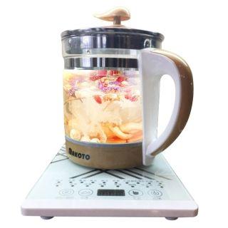 Makoto玻璃养生壶DLS-Y05  全自动多功能加厚养生壶1.8L 黑白两色可供选择