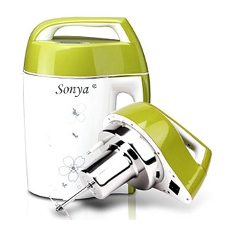 Sonya时尚新设计型豆浆机SYA-18A 全钢无网 易清洗
