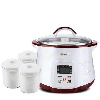 Makoto Smart Electric Stew Pot DGD-18EG 1.8L with 4 Ceramic Inner Pots