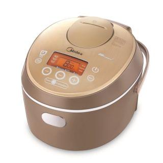 Midea美的电饭煲5L MB-FC5020 涡轮除泡 黄晶蜂窝内胆 无接水盒