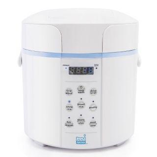 Aroma多功能迷你电饭煲MPC-912BL 2L/4杯米小容量 数码显示屏 烹饪迅速