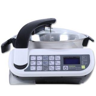 【加拿大专送-免快递费】捷赛自动烹饪锅E15A 一键操作 智能全自动,无油烟,不糊锅!