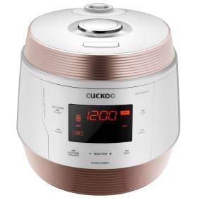 Cuckoo/福库智能压力电饭煲CMC-QSB501S 10杯米/5L 1.8倍高压烹煮 黑晶X-Wall内胆