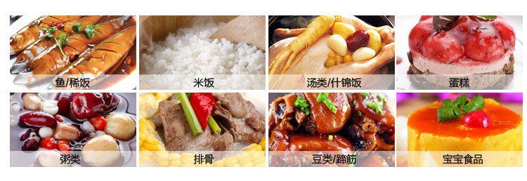 Aobosi电压力锅 产品配置清单