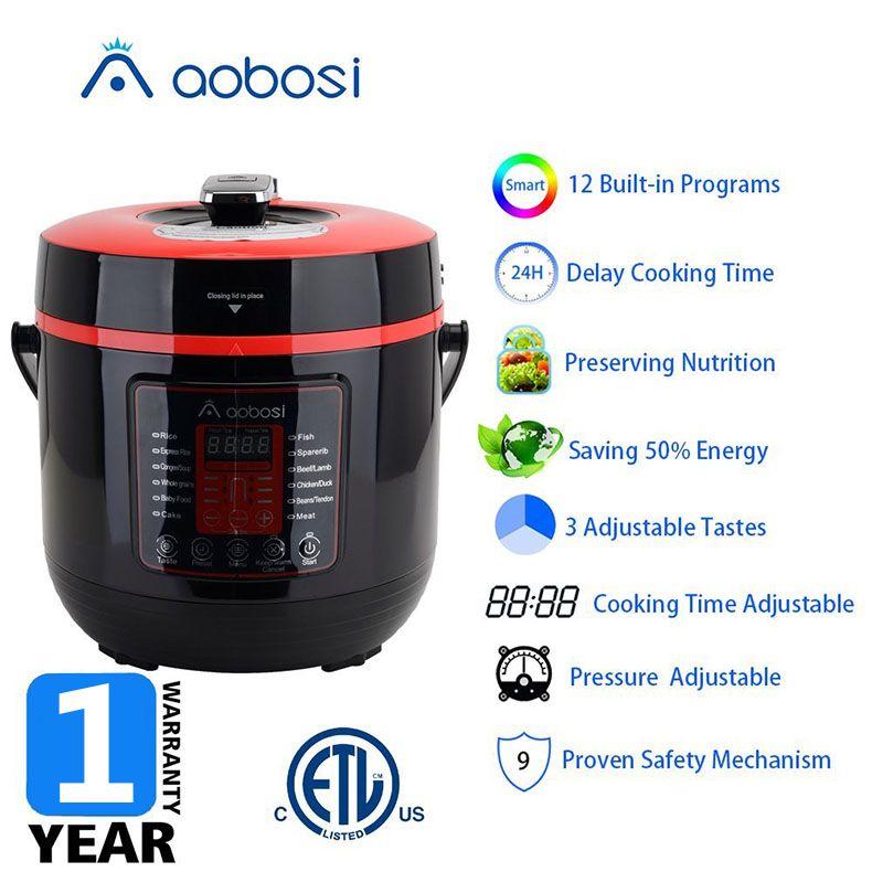 Aobosi电压力锅 YBW60-100Q1产品卖点