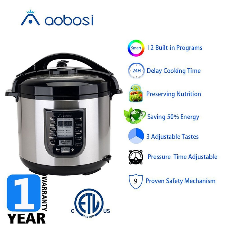 Aobosi大容量电压力锅YBW80-120G产品卖点