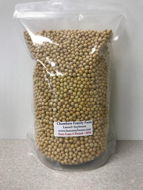 Laura Soybeans 5磅装非转基因黄豆