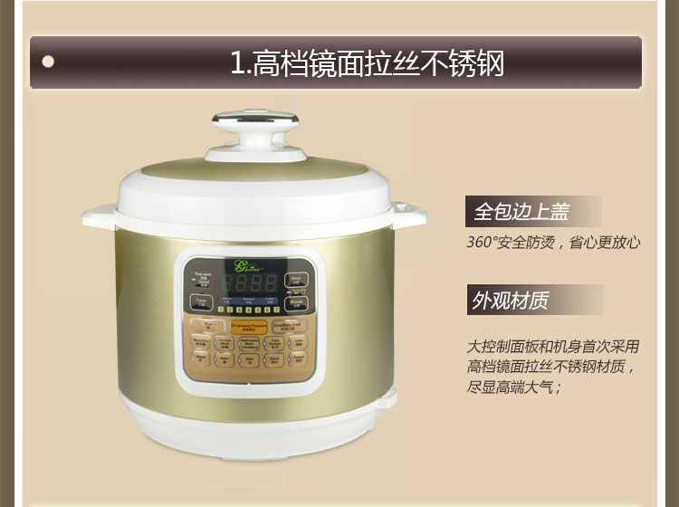 (Gourmet)智能电压力锅