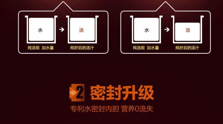 SONYA 微电脑隔水不锈钢内锅电炖锅 SDZ-32EG