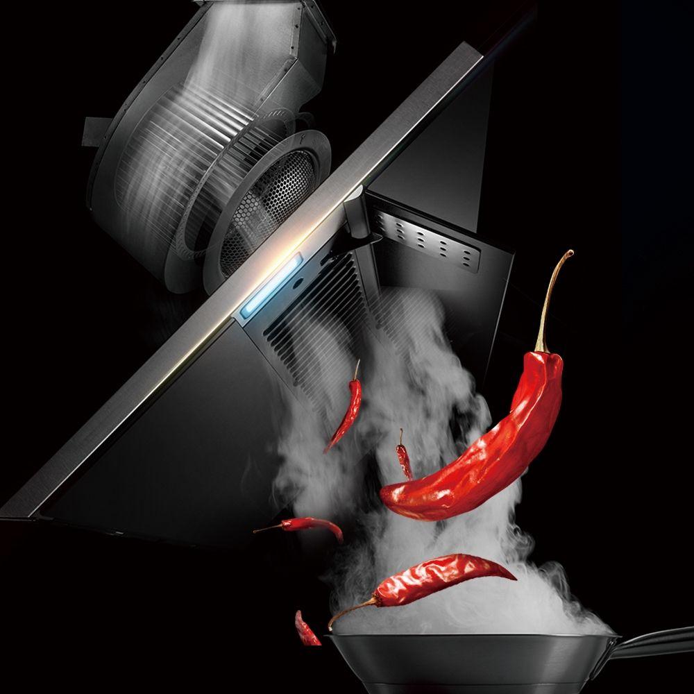 FOTILE方太JQG9009 油杯可视化窗口 低噪音 厨房 侧吸油烟机