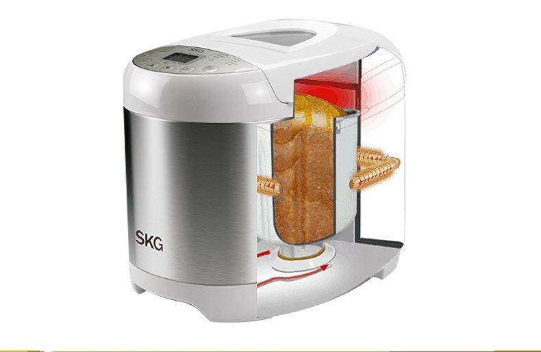 SKG 2磅全自动多功能家用面包机3950